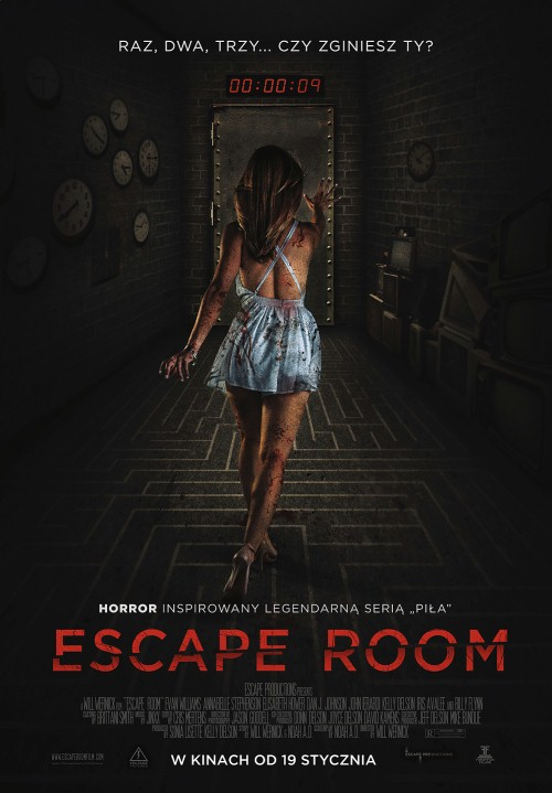 Escape Room - okładka
