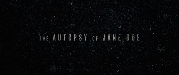 Autopsja Jane Doe - screen