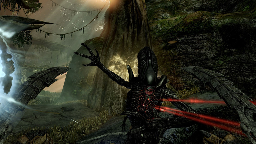 Aliens vs Predator - screen