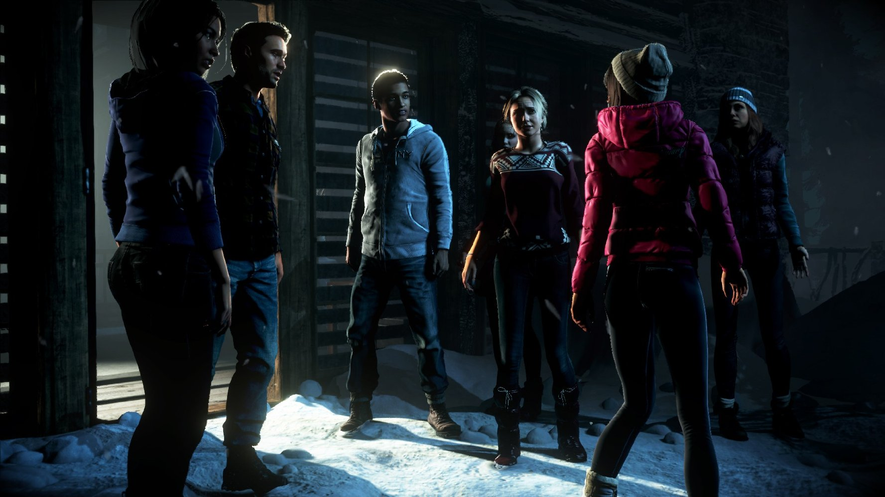 Until Dawn - screen