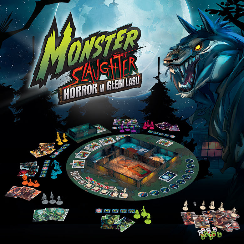 Monster Slaughter: Horror w Głębi Lasu - komponenty