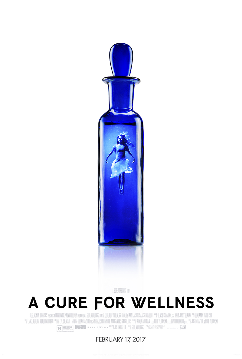 A Cure for Wellness - plakat