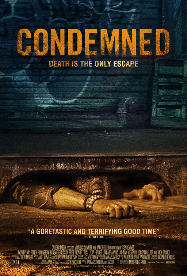 Condemned - plakat