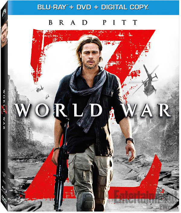 World War Z - okładka Blu-ray